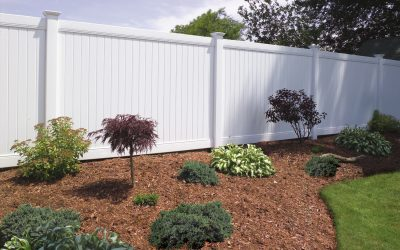New Vinyl Privacy Fence, Fence Repair - Free Estimates